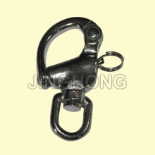 SS: Swivel Snap Shackle With Round Head