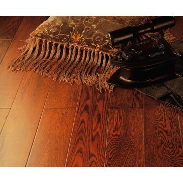 Comercial 8,3 mm HDF AC4 gravado noz piso laminado
