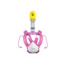 Para niños Conjunto de snorkel subacuático de cara completa