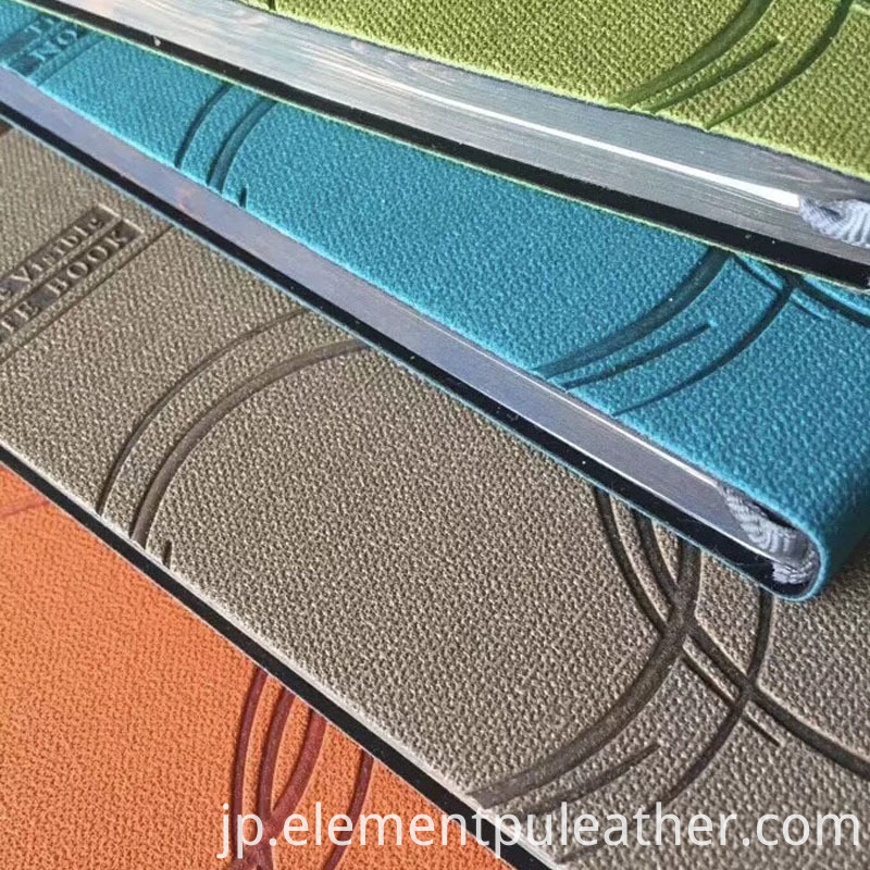Linen Pattern PU Leather