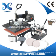 small t shirt cheap used t shirt heat printing press machine for small business