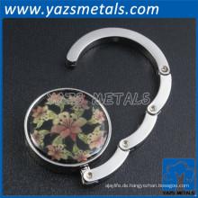 billig Metall benutzerdefinierte Geldbörse Hänger Haken