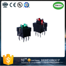 Interruptor táctil de alta calidad de 7.5 * 8.7 mm sin interruptor de cubierta (FBELE)