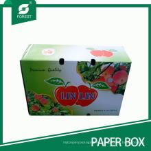 Caja de cartón para embalaje corrugado para manzanas