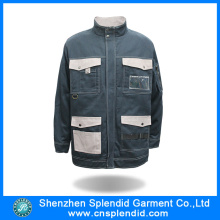 Bulk Wholesale Men 100 Cotton Work Jacket with Multi Pocket