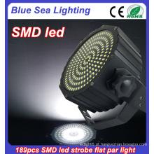 189pcs SMD disco bar dj controle remoto sem fio levou luz estroboscópica