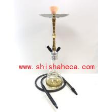 2016 Nouveau Style En Aluminium Narguilé Fumeurs Pipe Shisha Narguilé