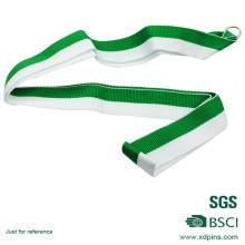 Kundenspezifische einfache Design Green & White Medal Lanyard