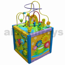 Wooden Playing Box with Rollercoaster (81392)