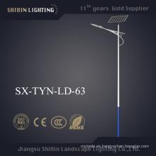 Luz de calle solar al aire libre de 40W 50W 60W 80W LED