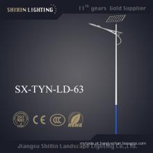 Luz de rua solar exterior do diodo emissor de luz de 40W 50W 60W 80W