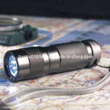 9-LED Aluminum Flashlight (Torch) (12-1H0001)