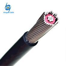 Cabos de cobre neutros concêntricos de alumínio da tela do cabo