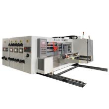 Automatic 2 color flexo  printer slotter die cutter machine for carton box