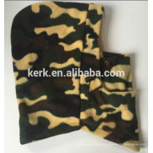 Cold weather wear polyester and fleece ski mask winter hat military balaclava