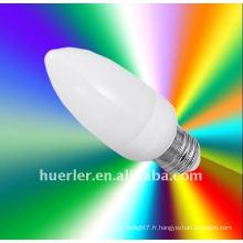Fabricant chinois E14 E26 E27 LED led lumière de bougie de Noël, 1W, puce Epistar