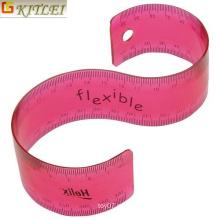 Herramienta de Medición Suministros de oficina Flexible Plastic Rolling Rulers