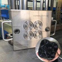 Moldeado de caucho de silicona de alta temperatura para juntas ORing