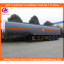 Heavy Duty 40ton Chemical Tanker for 30m3 Corrosive Tanker Trailer