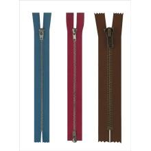 New design fashion big metal zipper for jeans wholesale