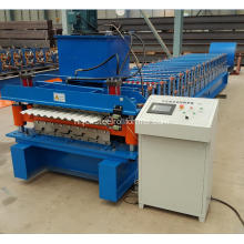 Zuid-Afrika Low Price Double Roofing Sheet Machine
