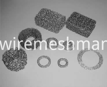 knitted-wire-mesh-filter-shape