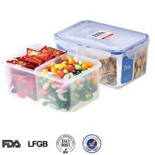 EASYLOCK plastic multi-compartment organizer box lunch box