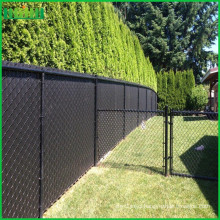 hot sale cheap and fine black chain link fence