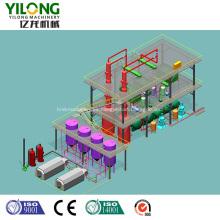Producción de combustible diesel a partir de aceite de motor usado