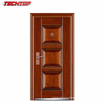TPS-033 Top-Selling Handmade Iron Steel Security Metal Door