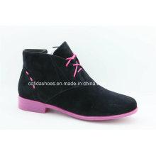 Europeu Flat Women Casual Comort Shoes for Fashion Ladies