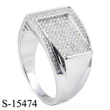 El último anillo de plata de la joyería de la manera del diseño 925