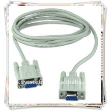 DB9 9pin Serial Extension Cable Female to Female