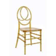 Wholle Sale Clear Golden Phoenix Chair for Wedding Party
