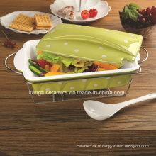 Ustensiles de cuisson en porcelaine antiadhésive de haute qualité (ensemble)