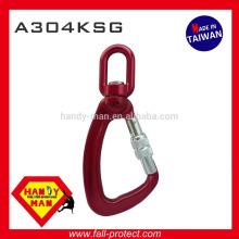 A304KSG Indicador Metal Alumínio Giratório Carga Snap Screw Lock Gancho