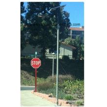 30W LED 60W Solarpanel Integriertes Solarstraßenlaterne All-in-Two Solar LED Straßenlaterne