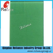 Verre couleur vert foncé verre flotté teinté