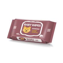 Toallitas para bebés no tejidas Aloe Tender Spunlace