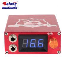 Solong Tatouage Rouge Alliage LCD Affichage Haute Qualité 12 V Alimentation Tatouage Adaptateur D'alimentation