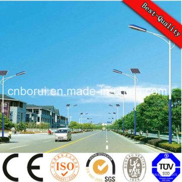 Lumière solaire intégrée de jardin de 12watts de la Chine usine de lumière solaire de jardin avec 5 ans de garantie