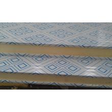 Painel de sanduíche da sala fria dos materiais de construção 100mm