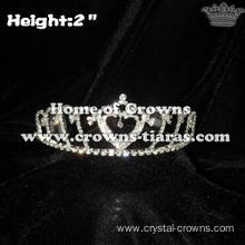 Wholesale Heart Crystal Crowns