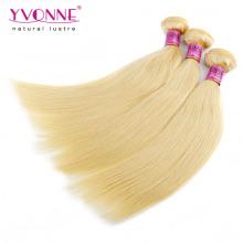 Top Qualität Blond Peruanisches Gerades Menschenhaar
