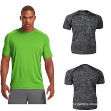 OEM Men Gym Camiseta Sport Wear Camiseta Dry Fit Camiseta