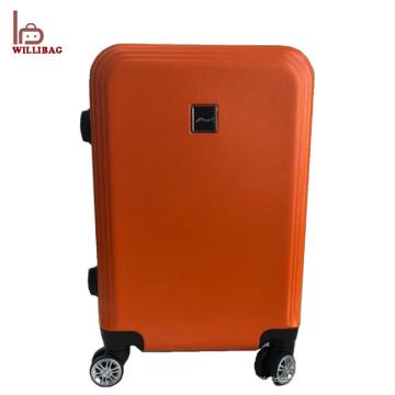 Trole da bagagem dos sacos do curso do trole do logotipo da mala de viagem feita sob encomenda engraçada