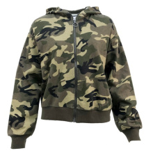 2021 New Arrival High Quality Spring Hot Sale Casual Camo Print Zipper Hoodie For Men