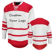 Custom Made Atacado Treinamento reversível Lacrosse Pinnies Ice Hockey Jerseys