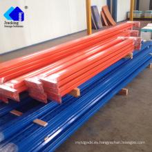 El equipo puede almacenar el estante del estante del metal del almacén, estantes ajustables del mercado de la UE el sistema industrial de estanterías