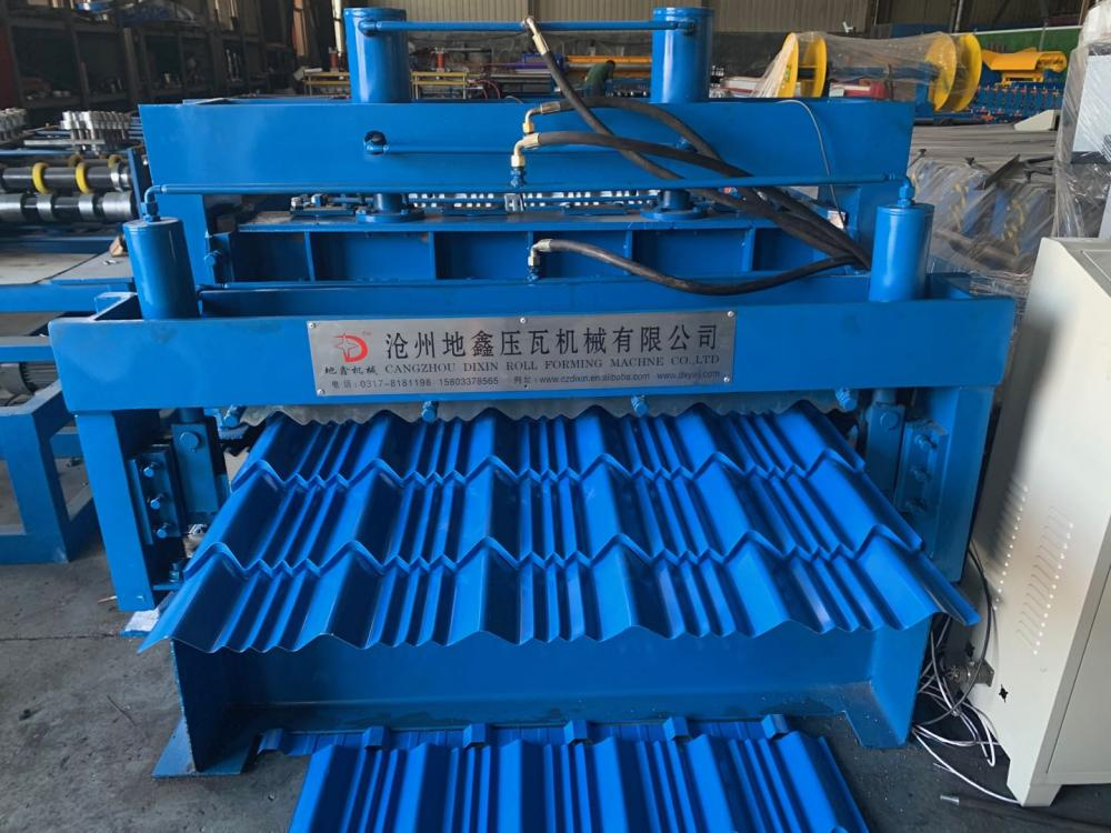 Glazed Rolling Roof Machinery